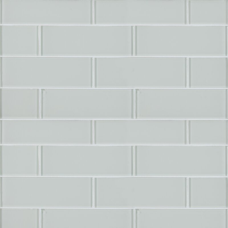 Msi Snowcap 3 X 9 Gl Subway Tile