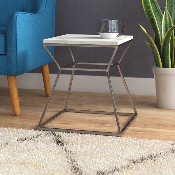 Belair Marble End Table by Ivy Bronx Ivy Bronx