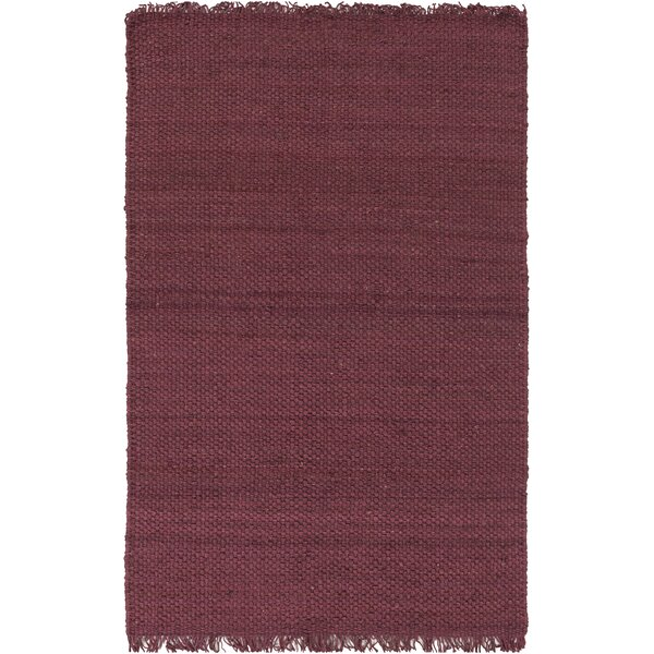 Pineda Burgundy Area Rug by World Menagerie