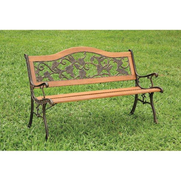 Okelley Park Bench by Charlton Home