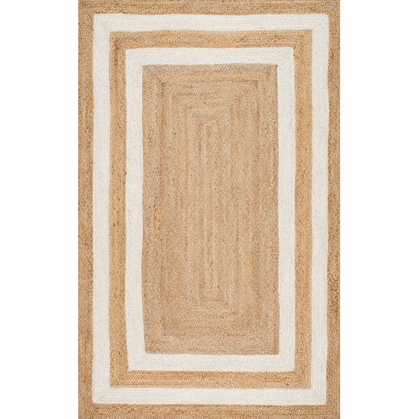 Dorsey Natural Area Rug by Beachcrest Home