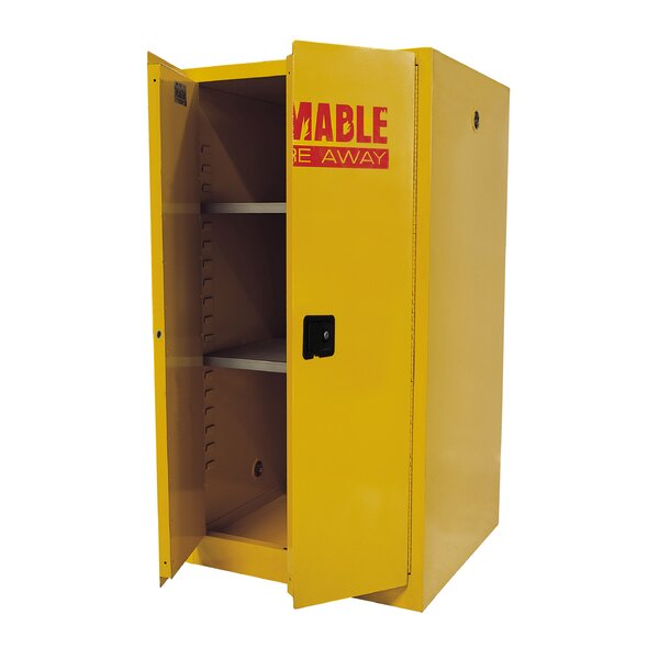 Flammable Safety 2 Door Storage Cabinet by Sandusky Cabinets