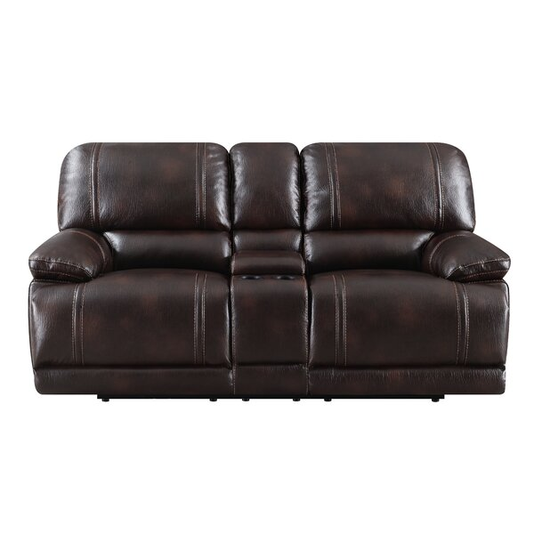 Leyla Reclining Loveseat By Winston Porter by Winston Porter 2019 Coupon