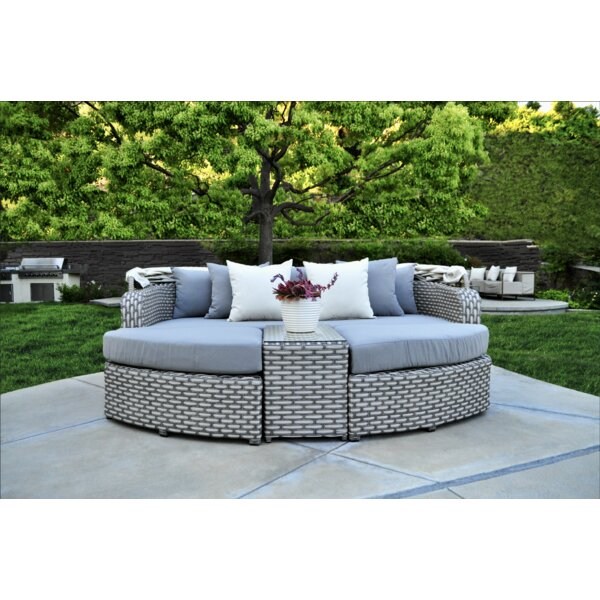 Schuler Daybed 4 Piece Sofa Seating Group with Cushion by Brayden Studio