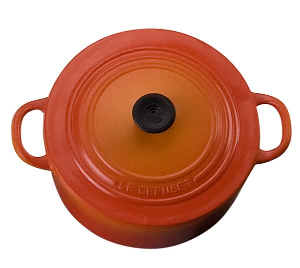 Enameled Cast Iron Acc. Round Dutch Oven Magnet by Le Creuset