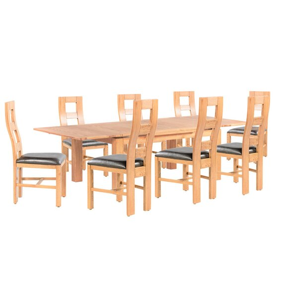 Pecoraro 9 Piece Extendable Dining Set by Loon Peak