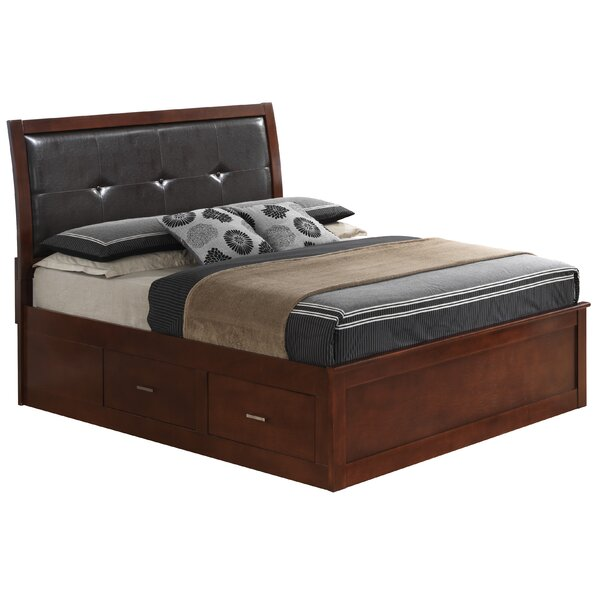 Hoytville Upholstered Storage Platform Bed by Three Posts