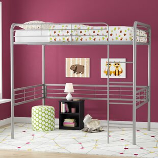 Reviews Maximillian Full Size Loft Bed By Viv + Rae