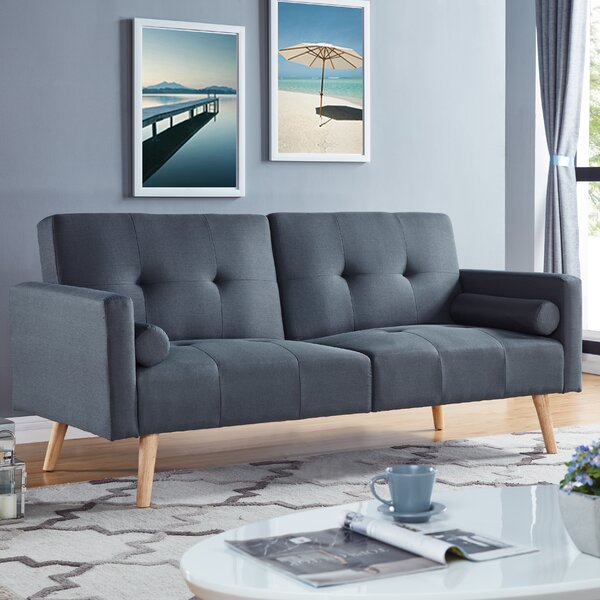 ︹best Places For︺ Brungardt Convertible Sofa By Ebern