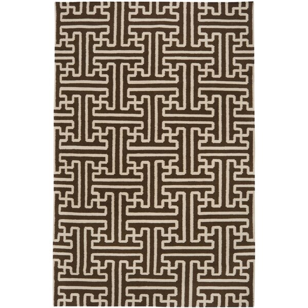 Archive Brown/Ivory Area Rug by Smithsonian Rugs