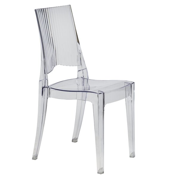 Driscoll Modern Vertical Design Dining Chair by Ebern Designs