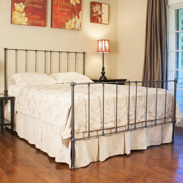 Edmonton Panel Bed by Benicia Foundry and Iron Works
