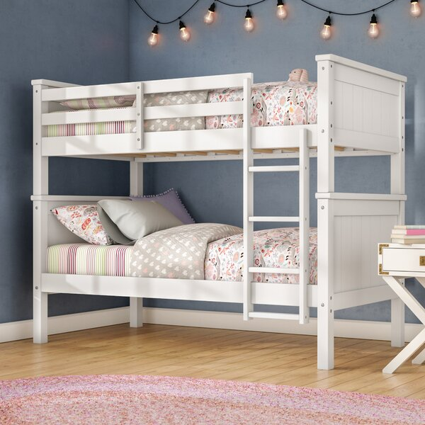 Bundara Twin over Twin Bunk Bed by Harriet Bee