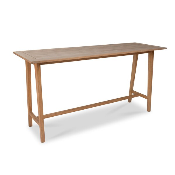 Julianne Bar Table by Rosecliff Heights