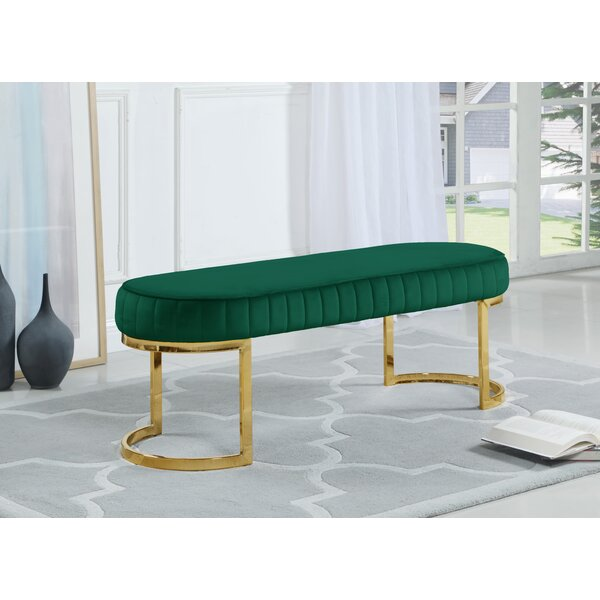 Ireland Upholstered Bench by Mercer41