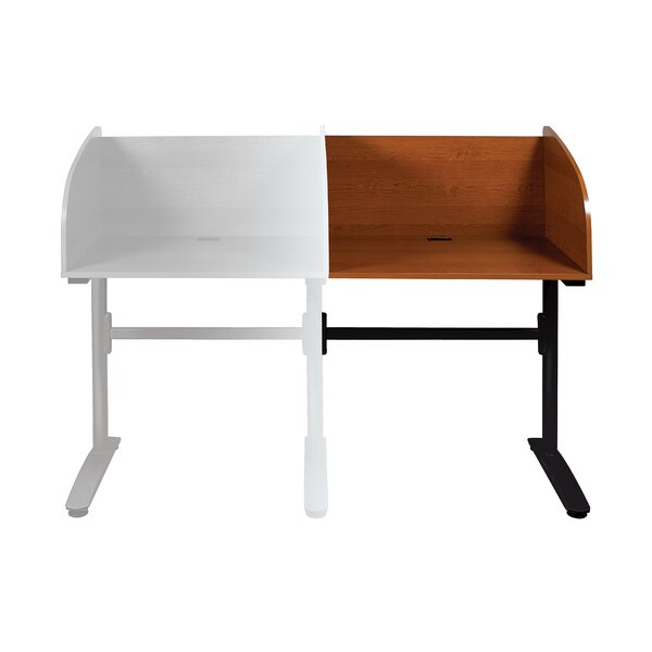 Lumina Wood Adjustable Height Study Carrel by Balt