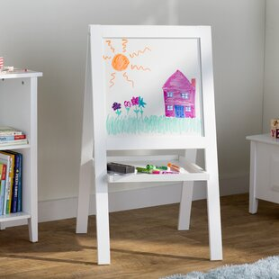 Read Reviews Suri Double Sided Board Easel By Viv + Rae