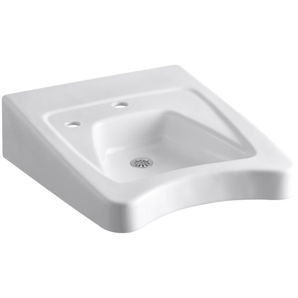 Morningside Ceramic 20 Wall Mount Bathroom Sink by Kohler