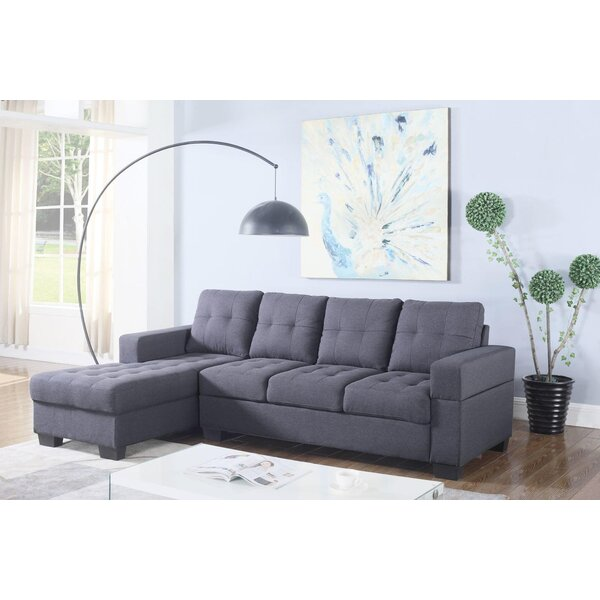 Shop A Great Selection Of Wheatly Left Hand Facing Sectional by Ebern Designs by Ebern Designs