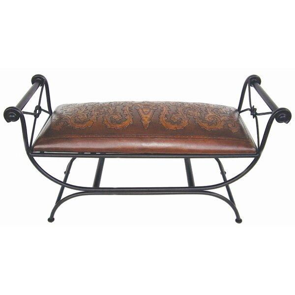 Navarette Double Vanity Bench by Astoria Grand