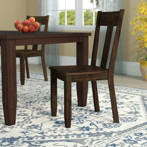 Mabry Solid Wood Dining Chair (Set of 2) by Loon Peak