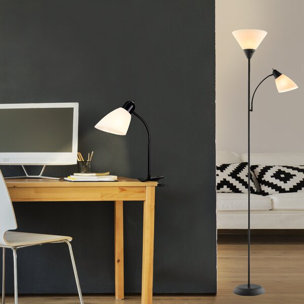 Pinajian 2 Piece Table and Floor Lamp Set by Ebern Designs