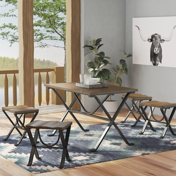 Aguiar 5 Piece Dining Set by Trent Austin Design
