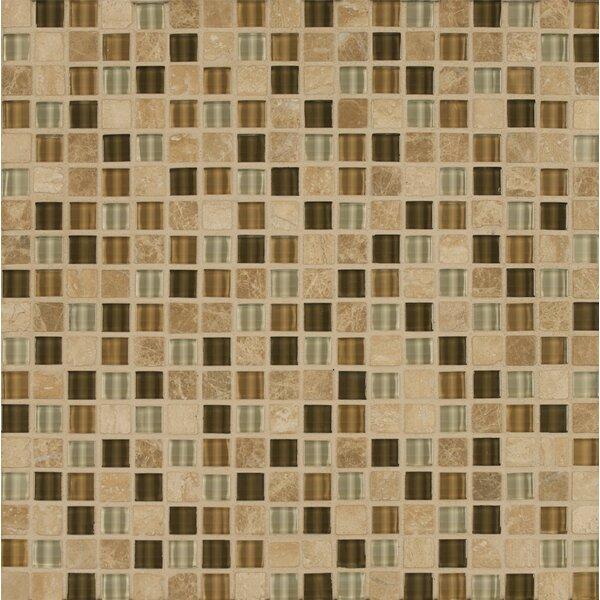 Carlisle 12 x 12 Stone Mosaic Blend Tile in Kent by Grayson Martin