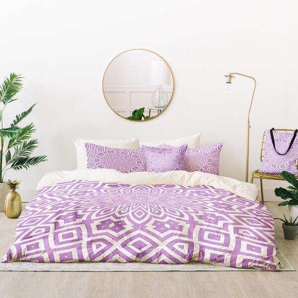 Lisa Argyropoulos Helena Lavender Duvet Cover Set