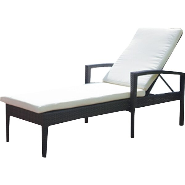 Lasater Chaise Lounge with Cushion by Brayden Studio