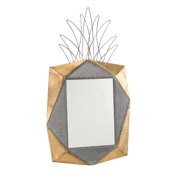 Jahnke Pineapple Accent Mirror by Brayden Studio