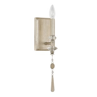Reviews Berkeley 1-Light Candle Wall Light By Donny Osmond Home