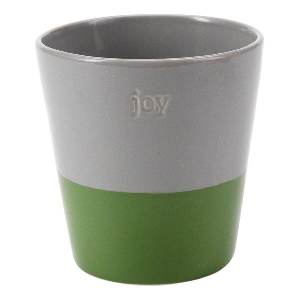 Joy Ceramic Pot Planter by Hallmark Home & Gifts