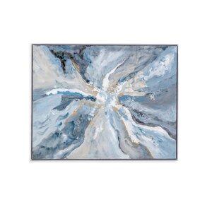 'Center Earth' Frame Print on Canvas by Brayden Studio