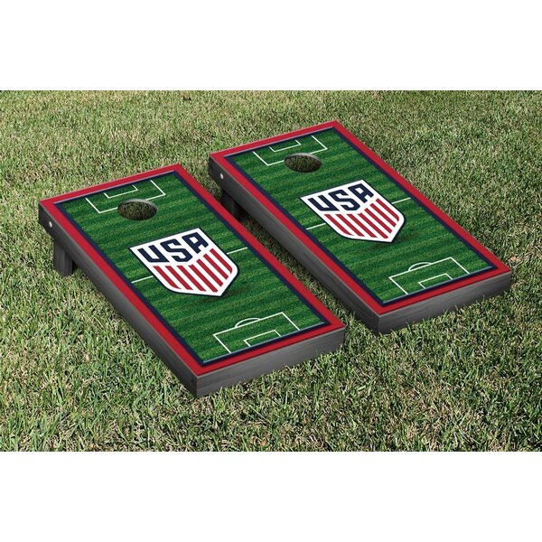 MLS Soccer Field Version 2 Cornhole Game Set by Victory Tailgate