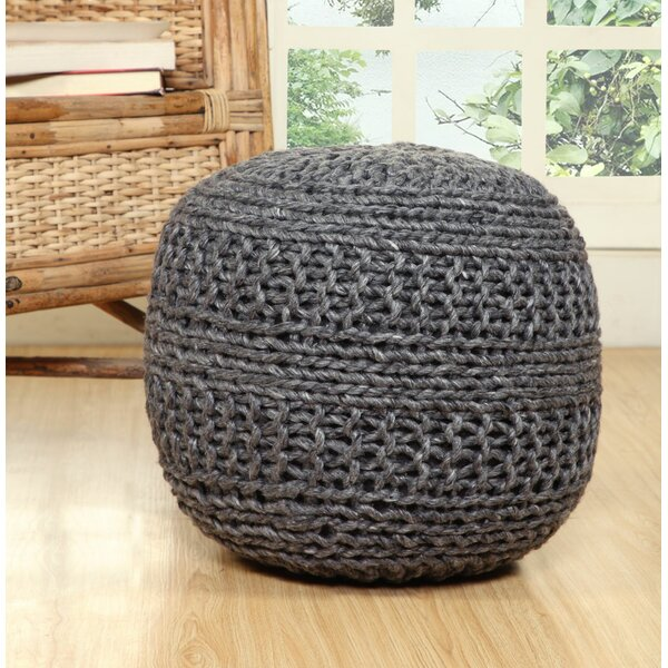 Colegrove Pouf by Bungalow Rose