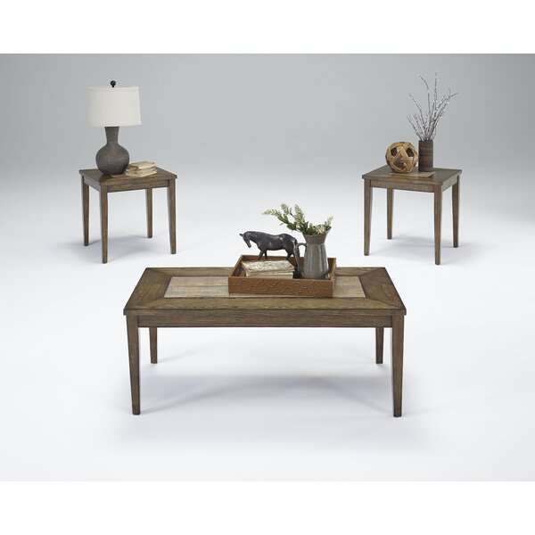 West Adams 3 Piece Coffee Table Set by Loon Peak Loon Peak
