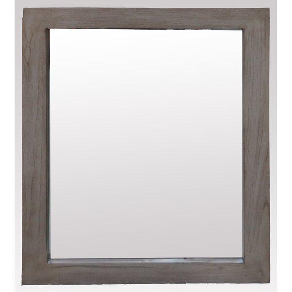 Hettinger Rectangle Wood Wall Mirror by Laurel Foundry Modern Farmhouse