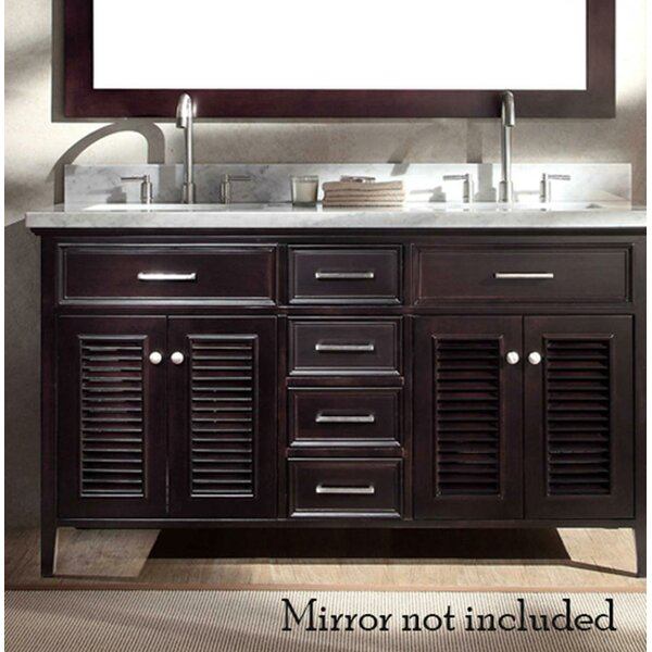 Hamil 61 Double Bathroom Vanity Set by Highland Dunes