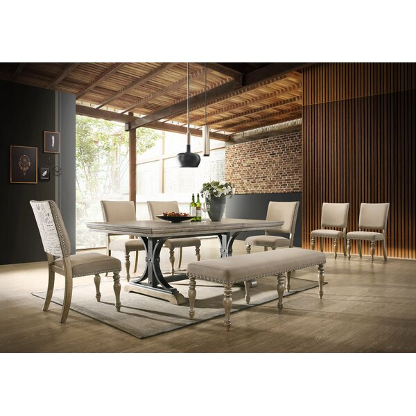 Dasher 8 Piece Dining Set by One Allium Way