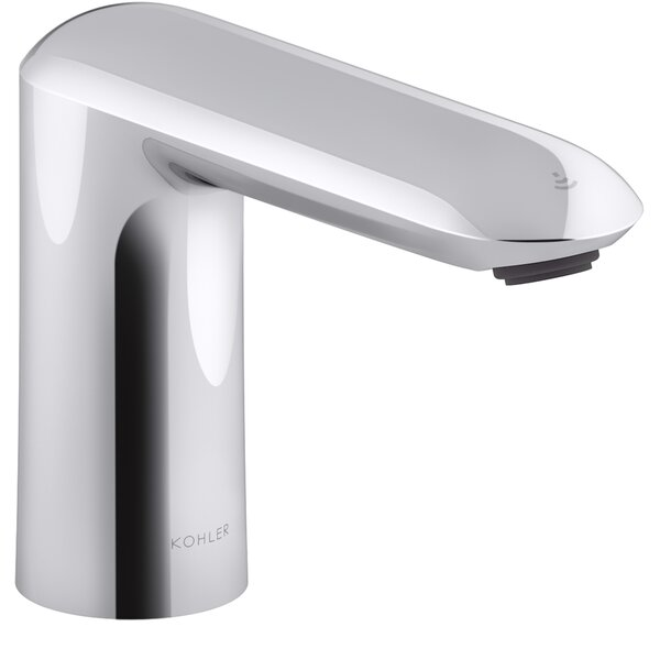 Kumin Touchless Bathroom Sink Faucet with Kinesis Sensor Technology and Mixer, Ac-powered