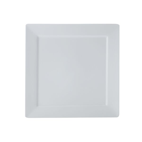 White Basics Cosmopolitan Square Platter (Set of 2) by Maxwell & Williams