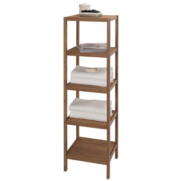 Bambo Tower 14.5 W x 53.5 H Bathroom Shelf