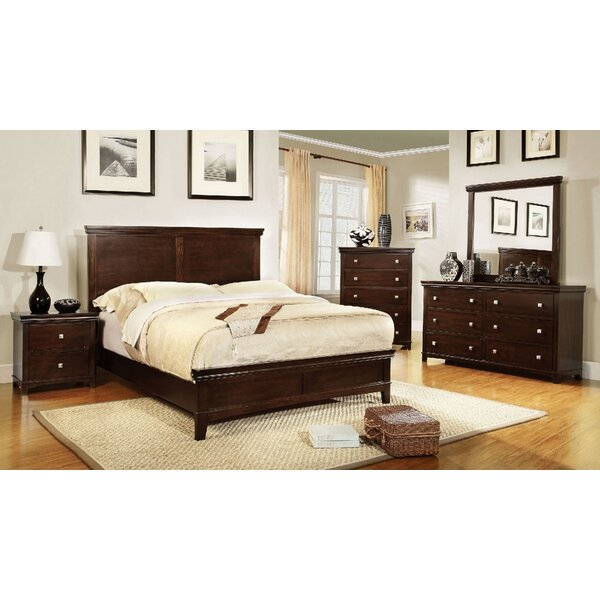 Maser Queen Platform 5 Piece Bedroom Set by Charlton Home