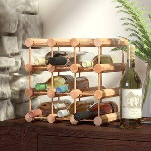 Arvon 12 Bottle Floor Wine Rack by Loon Peak
