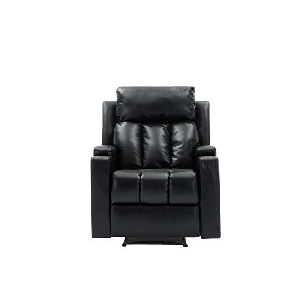 Enrik Faux Leather Manual Recliner W003213250