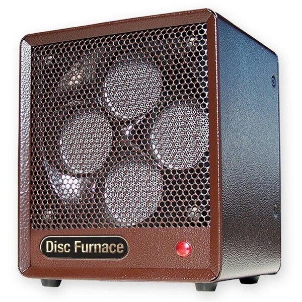 Original Box Ceramic Disc 1,500 Watt Electric Fan Compact Heater By Comfort Glow