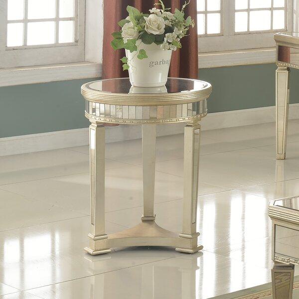 Felicia Round End Table by Willa Arlo Interiors
