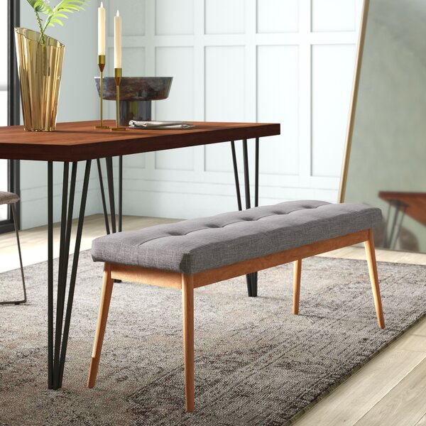 Blaisdell Upholstered Bench By Mercury Row
