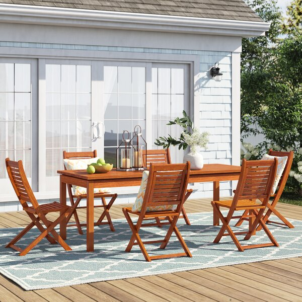 Brighton 7 Piece Dining Set by Sol 72 Outdoor